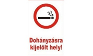 Area designated for smoking