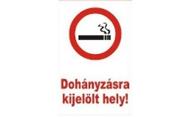 Area designated for smoking