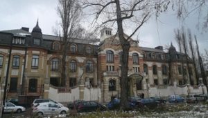 Building housing the Department of Neurology (Balassa Street)