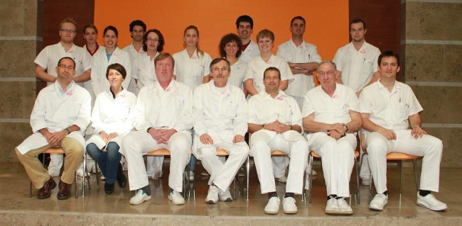 The Department of Periodontology's staff members