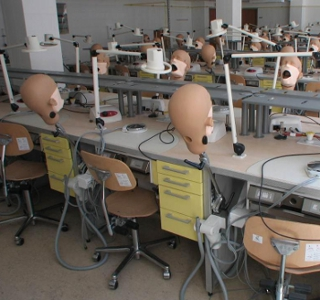 Department of Prosthodontics work station