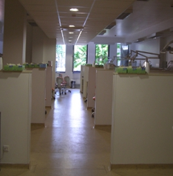 Interior shot of the Department of Conservative Dentistry