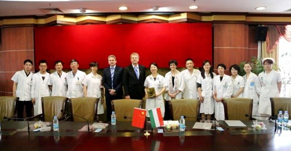 Semmelweis University\'s delegation visited China