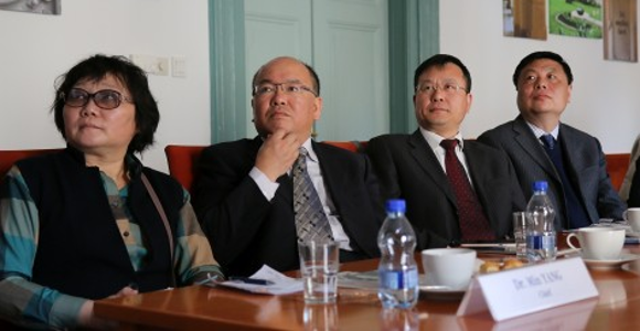Chinese delegation at Semmelweis University