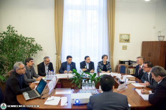 Meeting with the representatives of the Iranian Shahid Beheshti Medical University