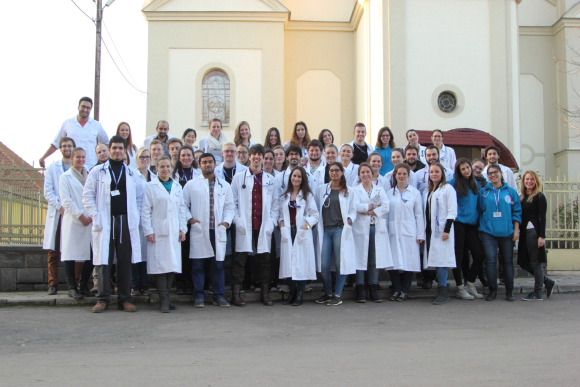 More than 500 patients were examined by medical students in Subcarpathia (Kárpátalja)