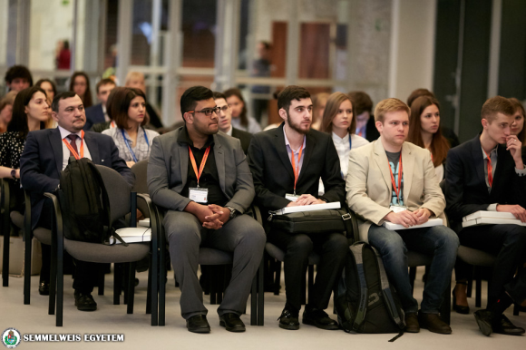 Participants arrived at the Semmelweis International Students' Conference from 10 universities