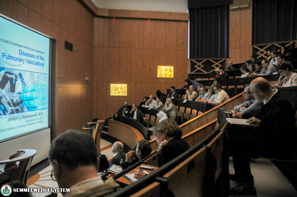 Mayo Clinic's Pulmonary Pathology Workshop at the 1st Department of