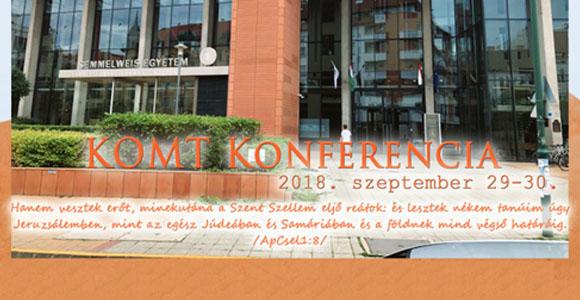 KOMT konferencia