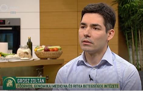 Dr. Grosz Zoltán a Család-barát műsorában
