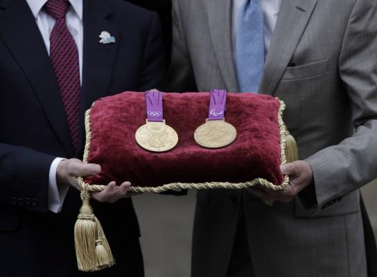 London 2012 – Aranyérmek