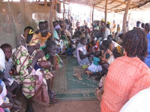 Járóbeteg rendelés-váróterem-Szudán