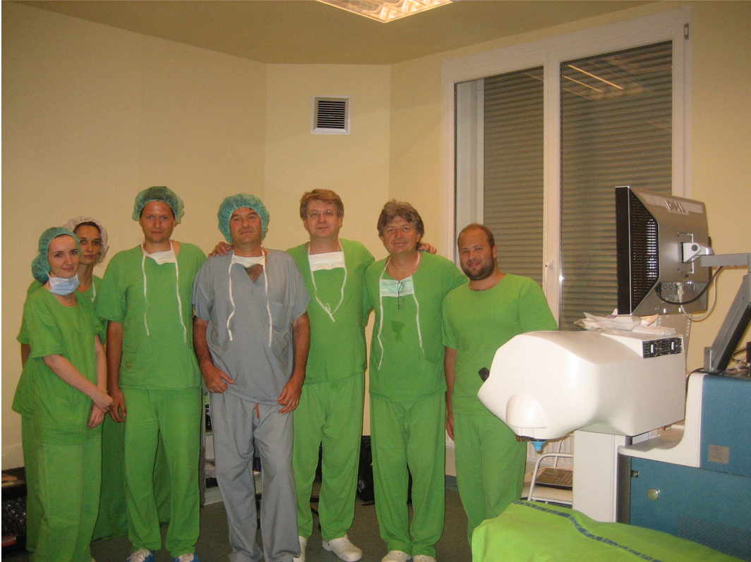 Femto team. Forrás: Szemészeti Klinika