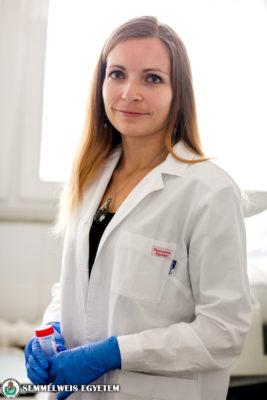 Dr. Csuka Dorottya - Junior Prima díjazott 2015 fotó: Kovács Attila