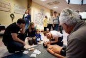 2016.10.16.Életet menteni gyerekjáték-tanulj újraéleszteni a II. Sz. Gyermekgyógyászati Klinikán.