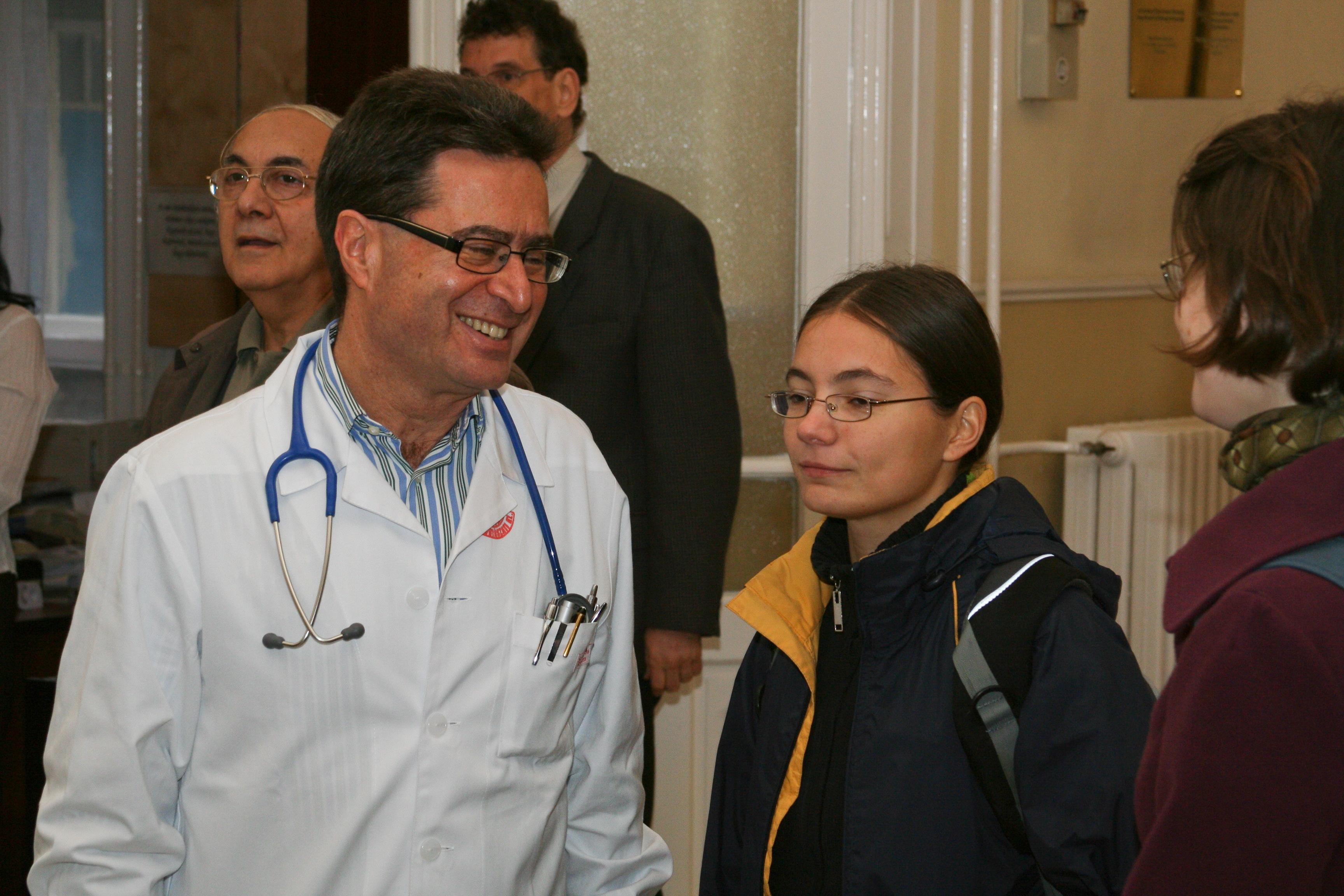 I. Sz. Belgyógyászati Klinika, tanteremátadó