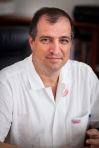 Tamás László a Fül-Orr-Gégészeti klinika igazgatója