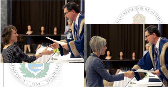 Dr. Pápay Judit és Dr. Szepesi Ágota docensi kinevezése