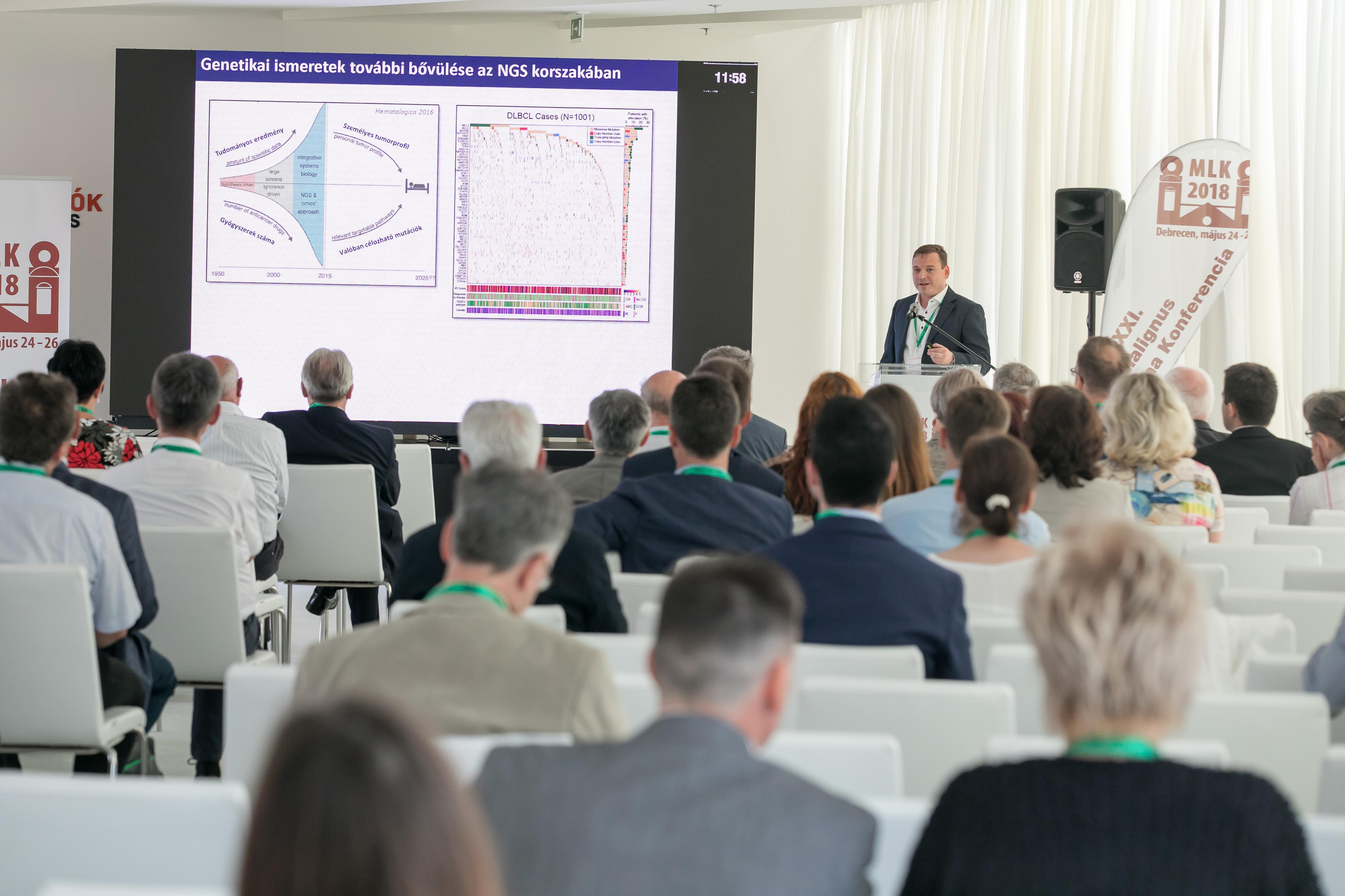 A Molekuláris Onkohematológia kutatócsoport a XXI. Malignus Lymphoma Konferencián