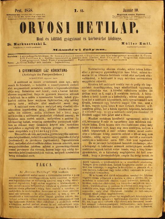 semmelweis_publikacio_orvosi_hetilap